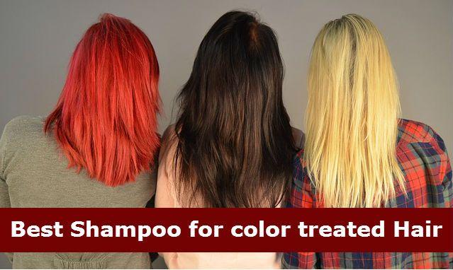 Best Shampoo for color treated hair