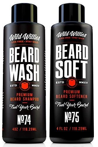Beard Wash and Conditioner Bundle by Wild Willies