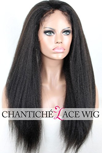 Chantiche Natural Looking Italian Yaki Lace Front Wigs