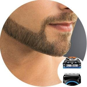 Contour edging beard trimmer