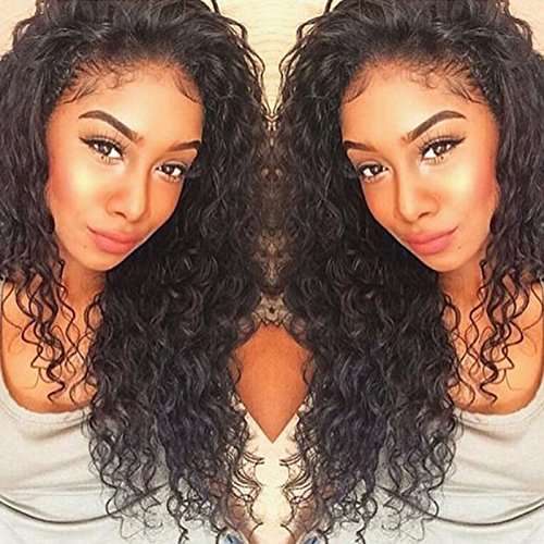 Curly Human Hair Full Lace Wigs