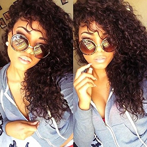 Eayon Hair Curly Full Lace Human Hair Wigs