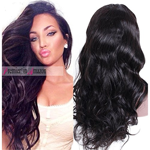 Premier Wig Body Wave Silk Top Lace Front Wigs-Glueless