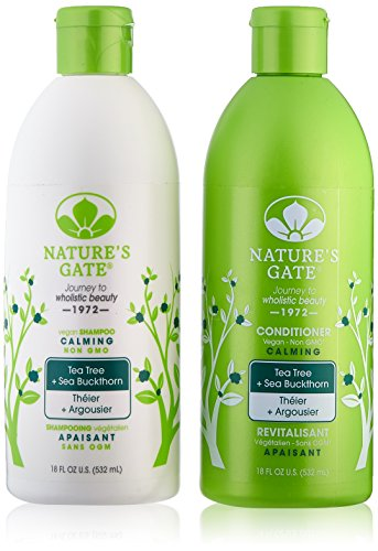 Natures Gate Tea Tree shampoo